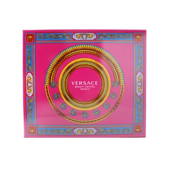 Bright Crystal Absolu Coffret: Eau De Parfum Spray  90ml/3oz + Shower Gel  150ml/5oz + Eau De Parfum 5ml/0.17oz  3pcs
