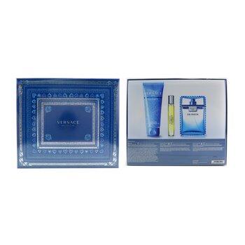 Eau Fraiche Coffret: Eau De Toilette Spray 100ml/3.4oz + Bath&Shower Gel 150ml/5oz + Eau De Toilette Spray 10ml/0.3oz  3pcs