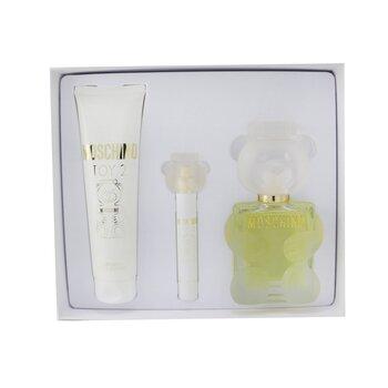 Toy 2 Coffret: Eau De Parfum Spray 100ml/3.4oz + Body Lotion 150ml/5oz + Eau De Parfum Spray 10ml/0.3oz  3pcs