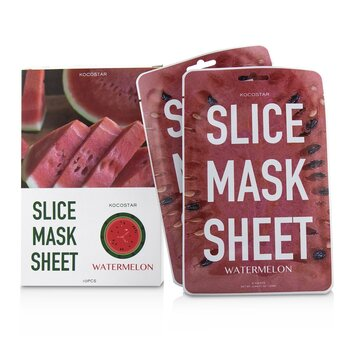 Slice Mask Sheet - Watermelon (Exp. Date 04/2021)  10sheets