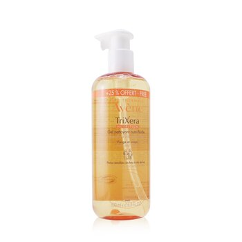 TriXera Nutrition Nutri-Fluid Face & Body Cleansing Gel - For Dry to Very Dry Sensitive Skin (Limited Edition)  500ml/16.9oz