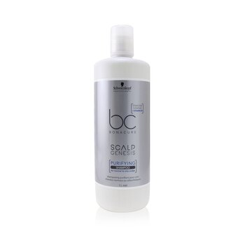 BC Bonacure Scalp Genesis Purifying Shampoo (For Normal to Oily Scalps)  1000ml/33.8oz