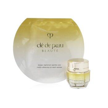 Supreme Eye Ritual Set: Enhancing Eye Contour Cream Supreme 15ml/0.52oz+ Vitality-Enhancing Eye Mask Supreme 6 sheets  2pcs