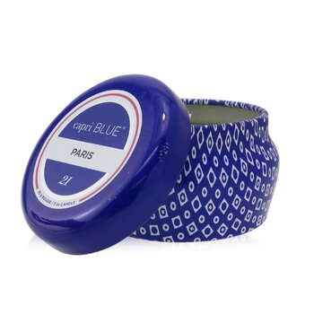 Blue Mini Tin Candle - Paris  85g/3oz
