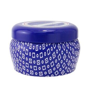Blue Mini Tin Candle - Pomegranate Citrus  85g/3oz