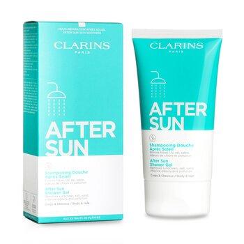 After Sun Shower Gel - For Body & Hair  150ml/5oz
