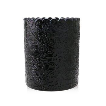 Scalloped Edge Candle - Moso Bamboo 176g/6.2oz