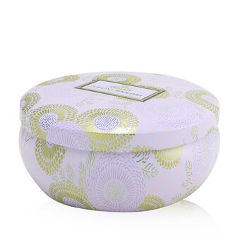 3 Wick Decorative Tin Candle - Panjore Lychee 340g/12oz
