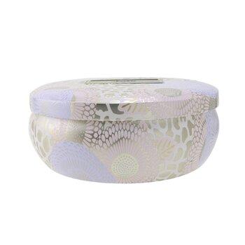 3 Wick Decorative Tin Candle - Santal Vanille  340g/12oz