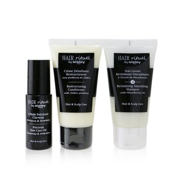 Hair Rituel by Sisley Smooth & Shine Kit  3pcs