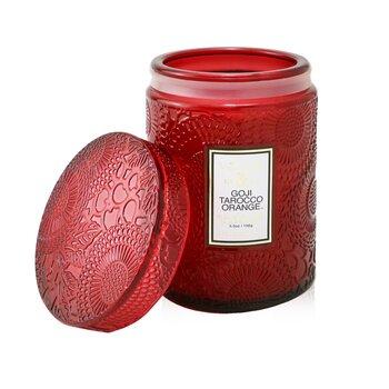 Small Jar Candle - Goji Tarocco Orange 156g/5.5oz