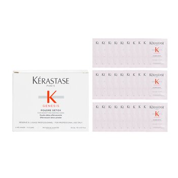 Genesis Poudre Détox Bicarbonato de Sodio Edificante (Polvo Desintoxicante Efervescente)  30x2g/0.07oz