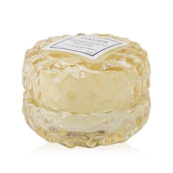 Macaron Candle - Bergamot Rose  51g/1.8oz