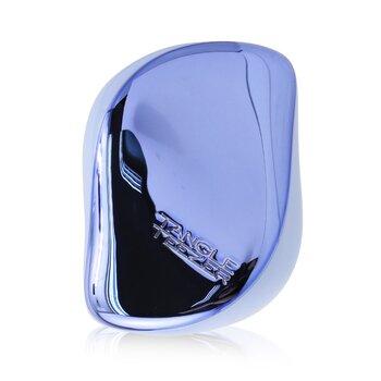 Compact Styler On-The-Go Detangling Hair Brush - # Baby Blue Chrome    CS-BBC-010220  1pc