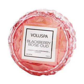 Macaron Candle - Blackberry Rose Oud  51g/1.8oz