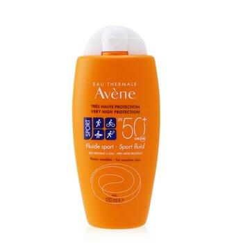 Sport Fluid SPF 50+ (Face & Body) - For Sensitive Skin  100ml/3.4oz