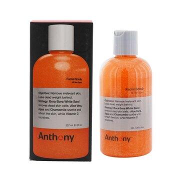 Logistics For Men Facial Scrub (Bottle) (Box Slightly Damaged)  237ml/8oz