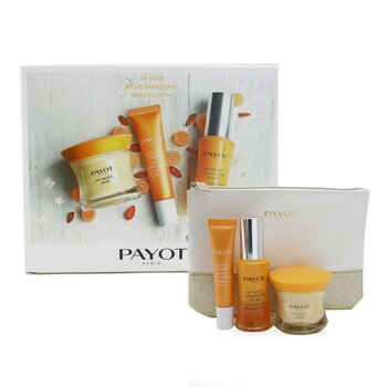 My Payot Energising Ritual 3-Pieces Set : Day Moisturiser 50ml + Eye Care 15ml + Serum 30ml  3pcs+1pouch