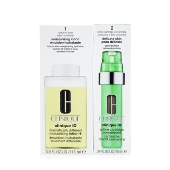 Clinique iD Dramatically Different Moisturizing Lotion+ + Active Cartridge Concentrate For Delicate Skin  125ml/4.2oz