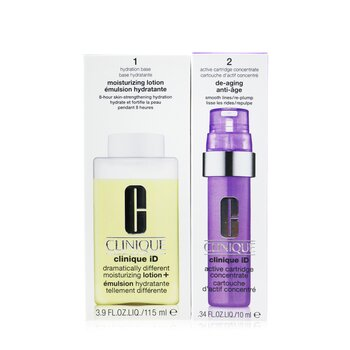 Clinique iD Dramatically Different Moisturizing Lotion+ + Active Cartridge Concentrate For De-Aging  125ml/4.2oz