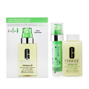 Clinique iD Dramatically Different Oil-Control Gel + Active Cartridge Concentrate For Delicate Skin  125ml/4.2oz