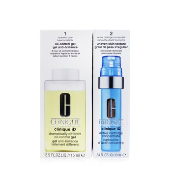 Clinique iD Dramatically Different Oil-Control Gel + Active Cartridge Concentrate For Uneven Skin Texture  125ml/4.2oz