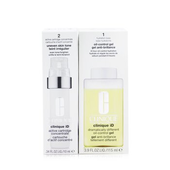 Clinique iD Dramatically Different Oil-Control Gel + Active Cartridge Concentrate For Uneven Skin Tone  125ml/4.2oz