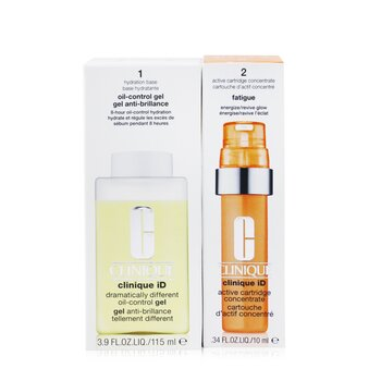 Clinique iD Dramatically Different Oil-Control Gel + Active Cartridge Concentrate For Fatigue  125ml/4.2oz