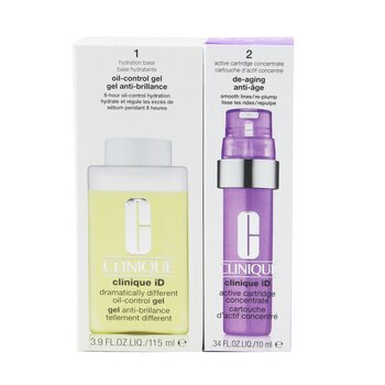 Clinique iD Dramatically Different Oil-Control Gel + Active Cartridge Concentrate For De-Aging  125ml/4.2oz