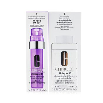 Clinique iD Dramatically Different Hydrating Jelly + Active Cartridge Concentrate For De-Aging  125ml/4.2oz