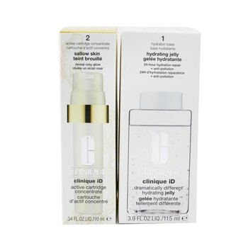 Clinique iD Dramatically Different Hydrating Jelly + Active Cartridge Concentrate For Sallow Skin  125ml/4.2oz