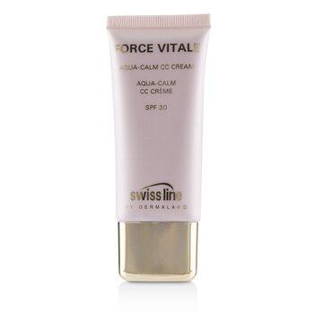 Force Vitale Aqua-Calm CC Cream SPF30 - #Beige 10  (Exp. Date 07/2021)  35ml/1.18oz