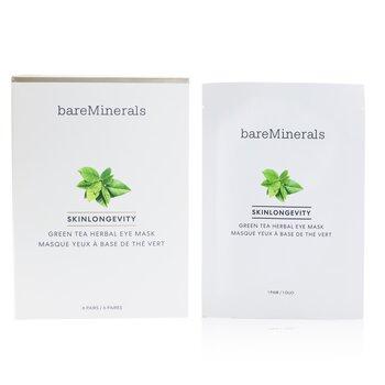Skinlongevity Green Tea Herbal Eye Mask  6pairs