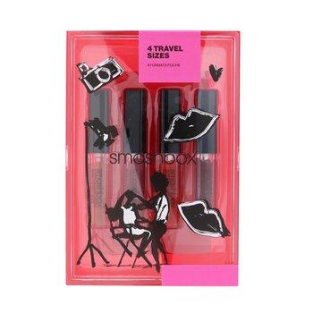 Always On Liquid Lip Set (4x Mini Matte Liquid Lipstick)  4x0.9ml/0.03oz