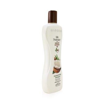 Silk Therapy with Coconut Oil Moisturizing Shampoo  355ml/12oz