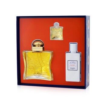 24 Faubourg Coffret: Eau De Parfum Spray 100ml/3.3oz + Eau De Parfum 7.5ml/0.25oz + Moisturizing Body Lotion 80ml/2.7oz  3pcs