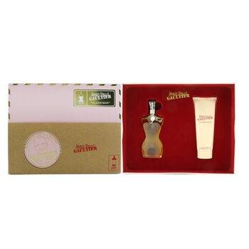Classique Coffret: Eau De Toilette Spray 50ml/1.7oz + Perfumed Body Lotion 75ml/2.5oz  2pcs