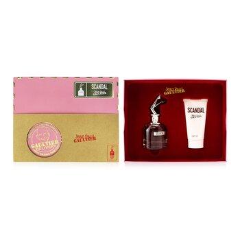 Scandal Coffret: Eau De Parfum Spray 50ml/1.7oz + Perfumed Body Lotion 75ml/2.5oz  2pcs