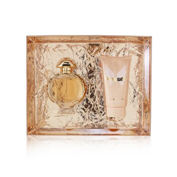 Olympea Coffret: Eau De Parfum Spray 50ml/1.7oz + Sensual Body Lotion 75ml/2.5oz  2pcs