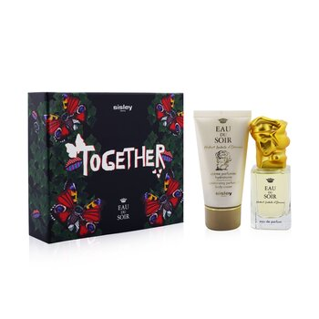 Eau Du Soir Coffret: Eau De Parfum Spray 30ml/1oz + Moisturizing Perfumed Body Cream 50ml/1.6oz 2pcs