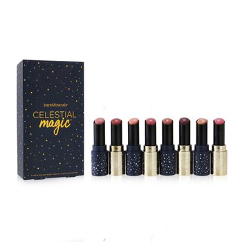 Celestial Magic Mini Gen Nude Radiant Lipstick Collection (8x Mini Lipstick 1.3g)  8x1.3g/0.04oz