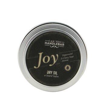 Dry Oil Beard Balm - Joy (Peppermint & Clary Sage Aroma)  60g/1.55oz