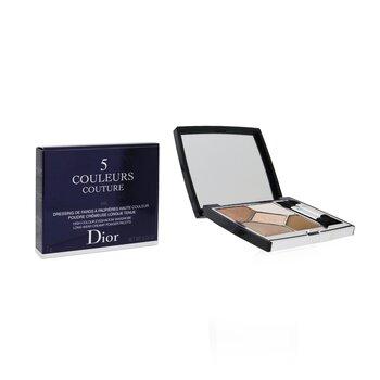 5 Couleurs Couture Long Wear Creamy Powder Eyeshadow Palette  7g/0.24oz