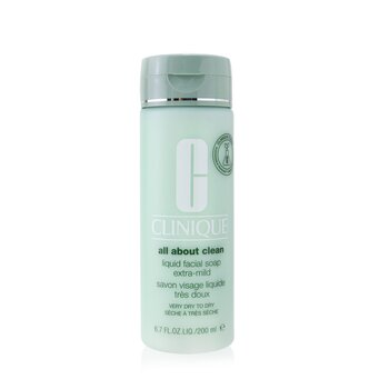 All About Clean Liquid Facial Soap Extra-Mild - Very Dry to Dry Skin  200ml/6.7oz