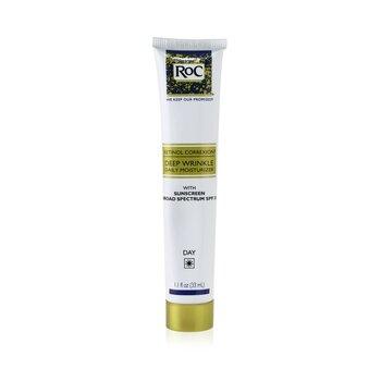 Retinol Correxion Deep Wrinkle Daily Moisturizer With Sunscreen Broad Spectrum SPF 30  33ml/1.1oz