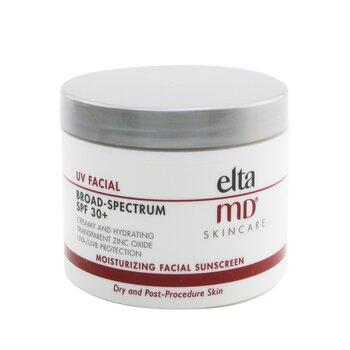 UV Facial Moisturizing Facial Sunscreen SPF 30 - For Dry & Post Procedure Skin (Box Slightly Damaged)  114g/4oz