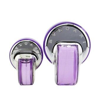 Omnia Amethyste Coffret: Eau De Toilette Spray 65ml/2.2oz + Eau De Toilette Spray 15ml/0.5oz (Box Sightly Damaged)  2pcs