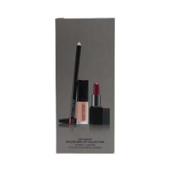 Lip Lights Deluxe Mini Lip Collection (1x Lip Glace + 1x Lip Color + 1x Lip Pencil)  3pcs
