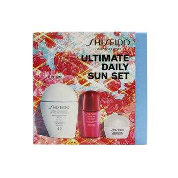 Ultimate Daily Sun Set: SPF 42 Sunscreen 30ml +Moisturizing Cream 10ml + Ultimune Power Infusing Concentrate 10ml  3pcs