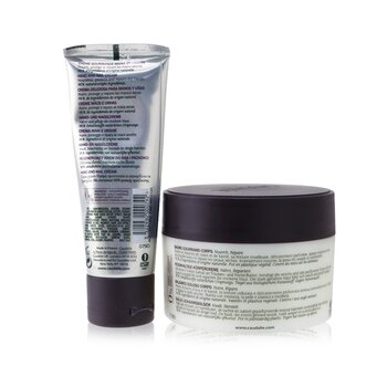 Cocooning Body Care Set: Vine Body Butter 225ml/7.6oz + Hand and Nail Cream 75ml/2.5oz  2pcs